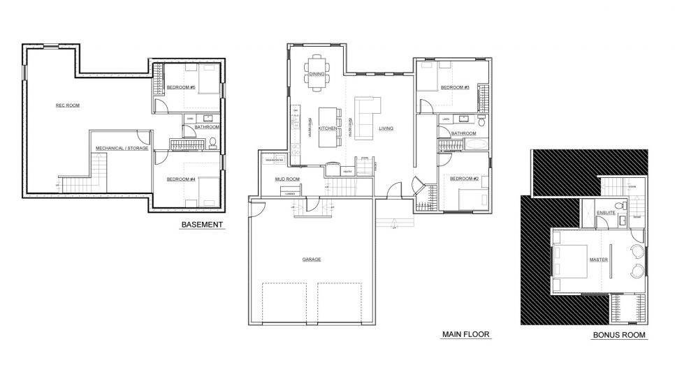 Elevation Floorplans